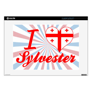I Love Sylvester, Georgia Laptop Skin