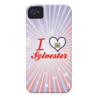 I Love Sylvester, West Virginia Case-Mate iPhone 4 Cases