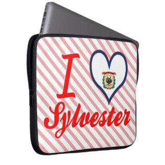 I Love Sylvester, West Virginia Laptop Computer Sleeve