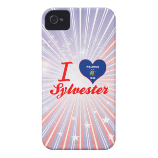 I Love Sylvester, Wisconsin iPhone 4 Case
