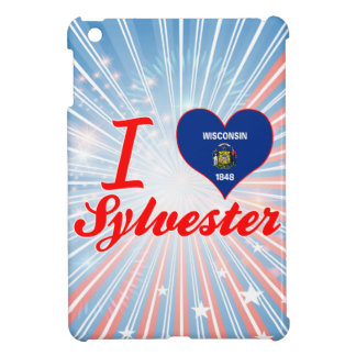 I Love Sylvester, Wisconsin Case For The iPad Mini