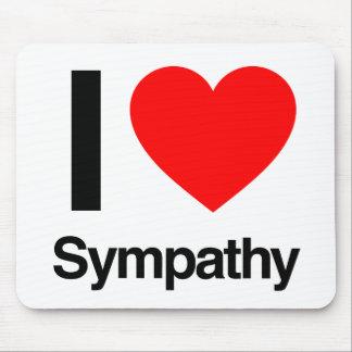 i love sympathy mousepad