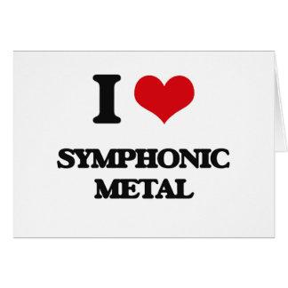 I Love SYMPHONIC METAL Card