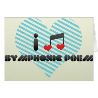 I Love Symphonic Poem Greeting Card