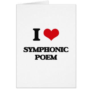 I Love SYMPHONIC POEM Cards