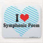 I Love Symphonic Poem Mousepads