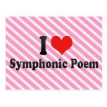 I Love Symphonic Poem Post Cards