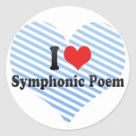 I Love Symphonic Poem Sticker
