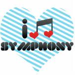 I Love Symphony Photo Sculpture