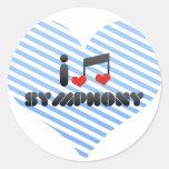 I Love Symphony Sticker