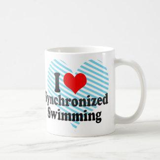 I love Synchronized Swimming Coffee Mugs