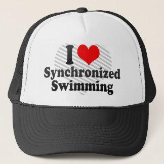 I love Synchronized Swimming Trucker Hat