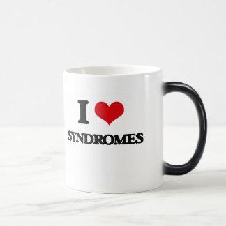 I love Syndromes 11 Oz Magic Heat Color-Changing Coffee Mug