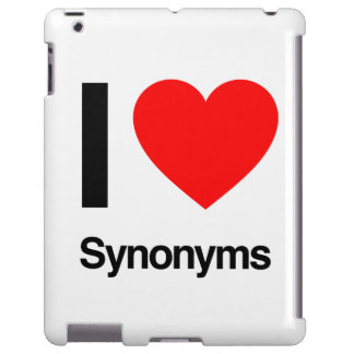 i love synonyms