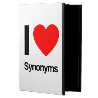 i love synonyms iPad air case