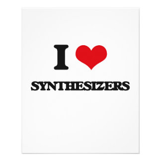 I love Synthesizers Flyer