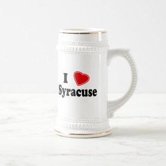 I Love Syracuse Beer Stein