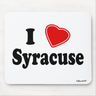 I Love Syracuse Mouse Pad