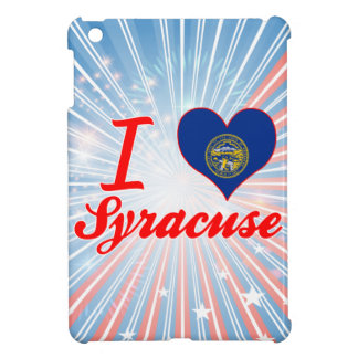 I Love Syracuse, Nebraska iPad Mini Cases