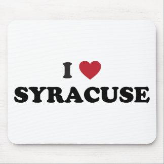 I Love Syracuse New York Mouse Pad