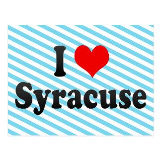 I Love Syracuse, United States Postcard