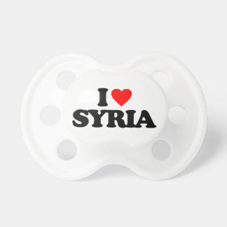 I LOVE SYRIA BooginHead PACIFIER