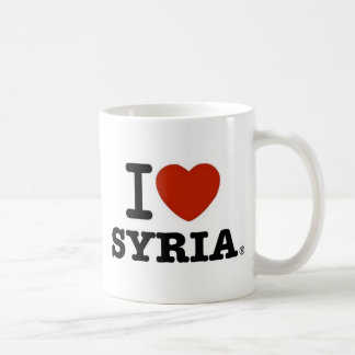 I Love Syria Coffee Mug
