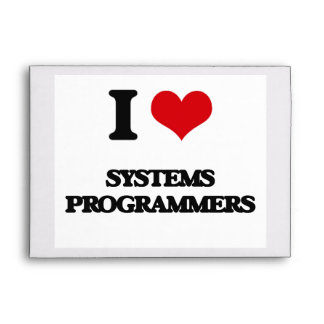I love Systems Programmers Envelope
