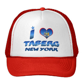 I love Taberg, New York Trucker Hats