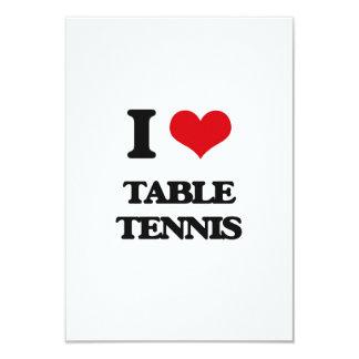 I Love Table Tennis Custom Announcements