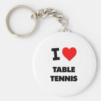 I love Table Tennis Keychain