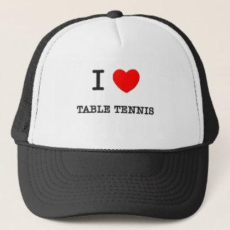 I Love Table Tennis Trucker Hat