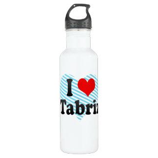 I Love Tabriz, Iran 24oz Water Bottle