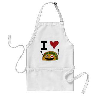 I Love Taco Apron