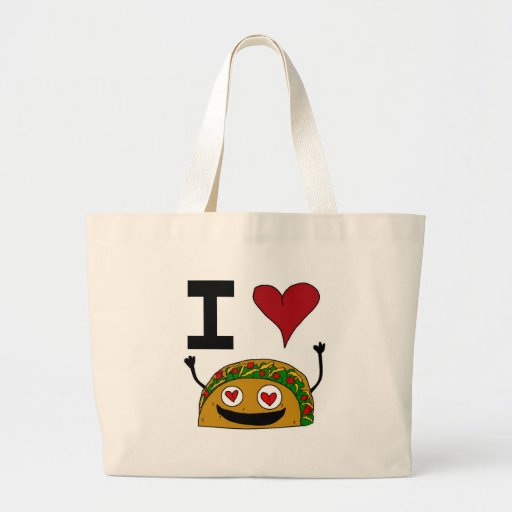 I Love Taco Bag