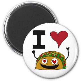 I Love Taco Magnet