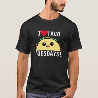 I Love Taco Tuesdays T-Shirt