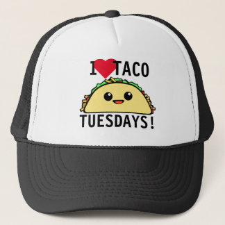 I Love Taco Tuesdays Trucker Hat