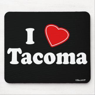 I Love Tacoma Mouse Pad