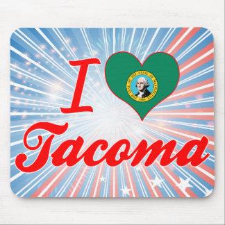 I Love Tacoma, Washington Mousepads