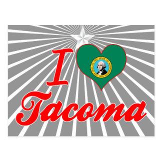 I Love Tacoma, Washington Postcard