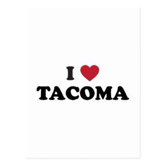 I Love Tacoma Washington Postcard