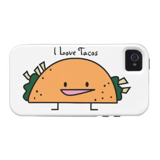 I Love Tacos cell case IPhone 4 Vibe iPhone 4 Case