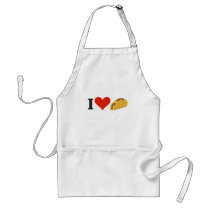 I Love Tacos For Taco Lovers Adult Apron