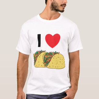 I Love Tacos Kids T-Shirt