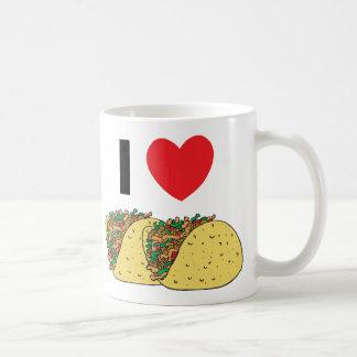 I Love Tacos Classic White Coffee Mug