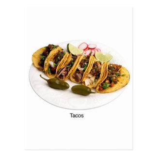 i love tacos postcard