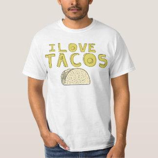 I LOVE TACOS SHIRT