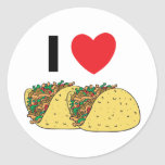 I Love Tacos Sticker