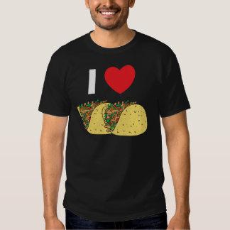 I Love Tacos T Shirts